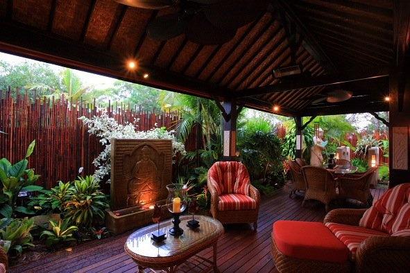 Bali Style Deck Bali Garden Balinese Garden Bali Style