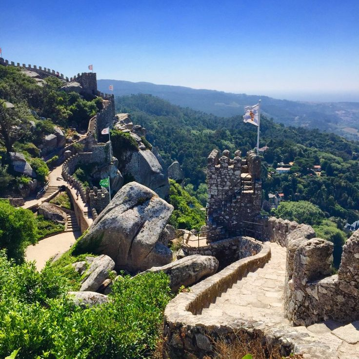 Sintra, King for a day!