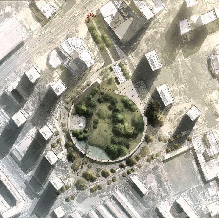 Galería - LATERAL, finalista en concurso Nuevo Parque Museo Humano San Borja / Santiago - 1
