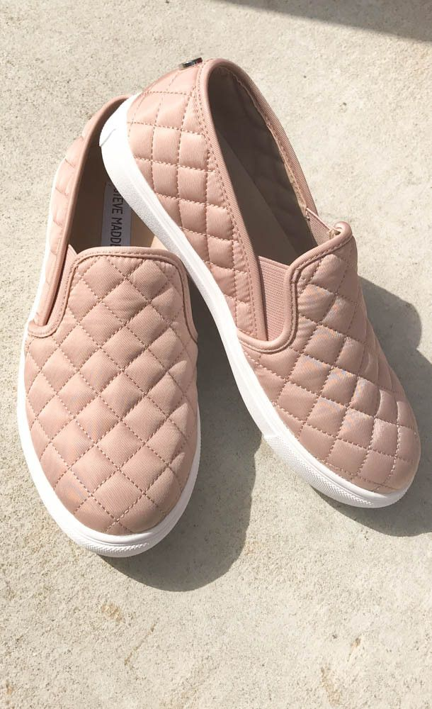Just what the doctor order theses Steve Madden Ecentrcq Sneaker - Blush.  Suede Sneakers ...