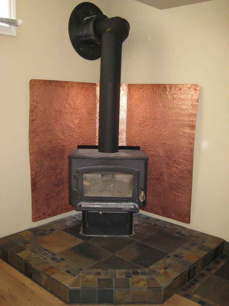 Heat Shield Stove Board Wood Burner Stove