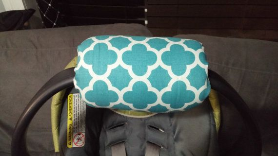 Car seat arm saver. Item measures: 7X 12.5  THIS IS A MOMMY MUST HAVE!