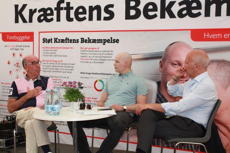 Ung kræfts egen Daniel Svensson deltager i snak om det at være ung patient <3