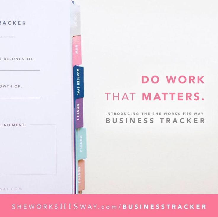 """Anybody else working on goals for 2018?⠀ ⠀ I'm loving using my She Works His Way Business Tracker this year to help me set goals that are more about surrendering and serving, and less about striving.⠀ ⠀ I've done the whole striving thing in the past, and it just left me exhausted and unfulfilled.⠀ ⠀ I love how Michelle Myers put it in her class yesterday about #godlygoals and #holyhustle,⠀ ⠀ """"God defends what is His and is inspired to work on our behalf when it's for HIS agenda, not ours."""" ⠀…"""