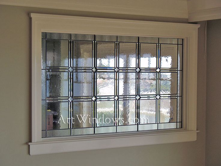 Craftsman Stained Glass A Good Solution For My Basement