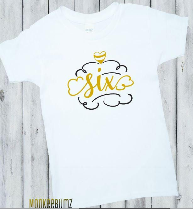 Going fast! Get your hands on Birthday Girl Shirt, 6th Birthday Shirt, First Birthday Outfit, Gold, Black, White, Six, Birthday Shirt, Girl Birthday shirt, Boy, Outfit while you can! 🙌 https://www.etsy.com/listing/532800951/birthday-girl-shirt-6th-birthday-shirt?utm_campaign=crowdfire&utm_content=crowdfire&utm_medium=social&utm_source=pinterest