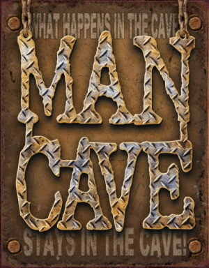 Man Cave - This is a sign available in my sign shop.