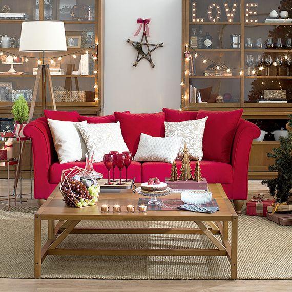 Sala De Tv Com Sofa Vermelho ~ vermelho decor sofá vermelho vermelho tradicional milord sofá