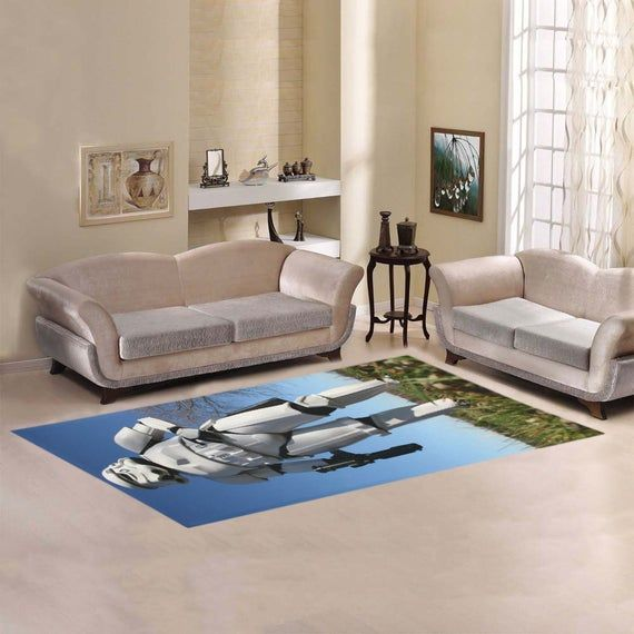 Stormtrooper In A Field 7 X 3 Area Rug Star Wars Inspired