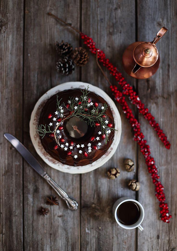 Il dolce di Natale – Bundt Cake al cioccolato