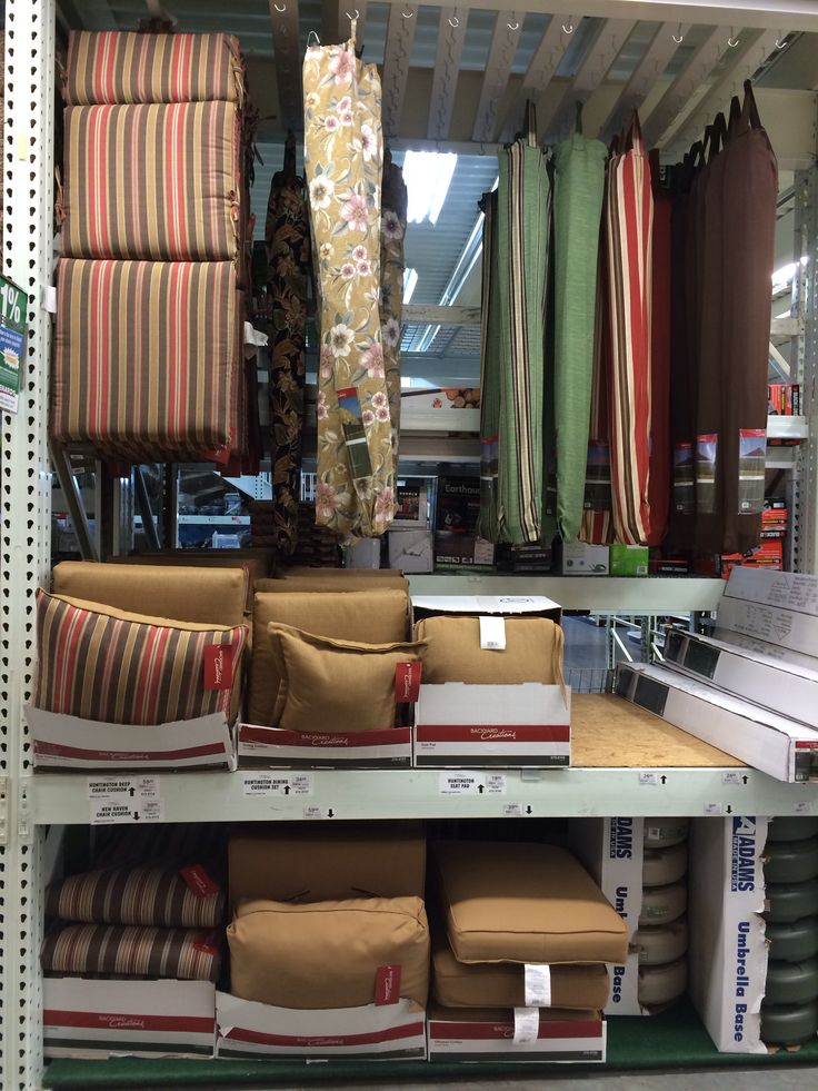 Menards #3171 | 2014 Outdoor Furniture Cushions #pillows #design #colors  #trends