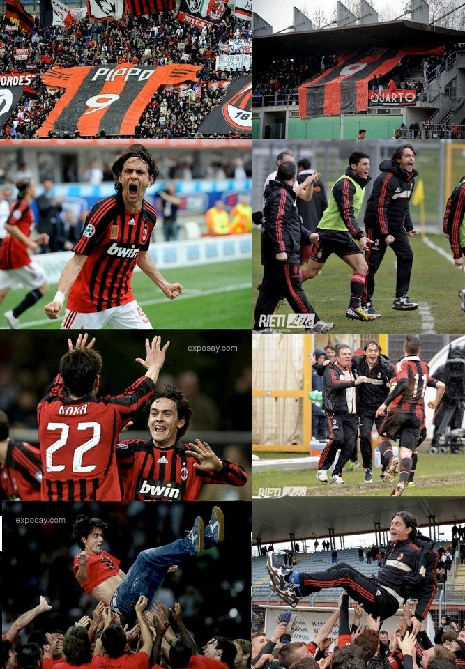 Pippo inzaghi then and now