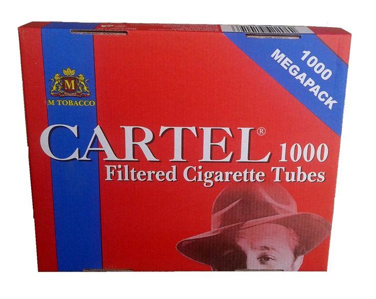 Tuburi tigari Cartel 1000 - 1 cutie contine 1.000 tuburi tigari; culoare filtru: rosu; dimensiune standard. Pentru comenzi si detalii: www.tuburipentrutigari.ro