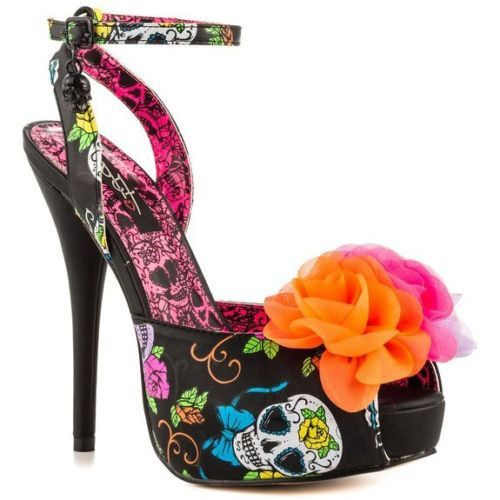 Dressed to Kill: 14 Halloween Heels to Die for! - Day of The Dead