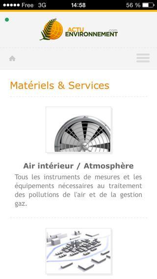 Actu-Environnement - Sélection « Tous éco-responsables ! » - Disponible uniquement sur iOS.
