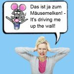 Funny German Expression for English Phrase to Tell Somebody off or Show Somebody up