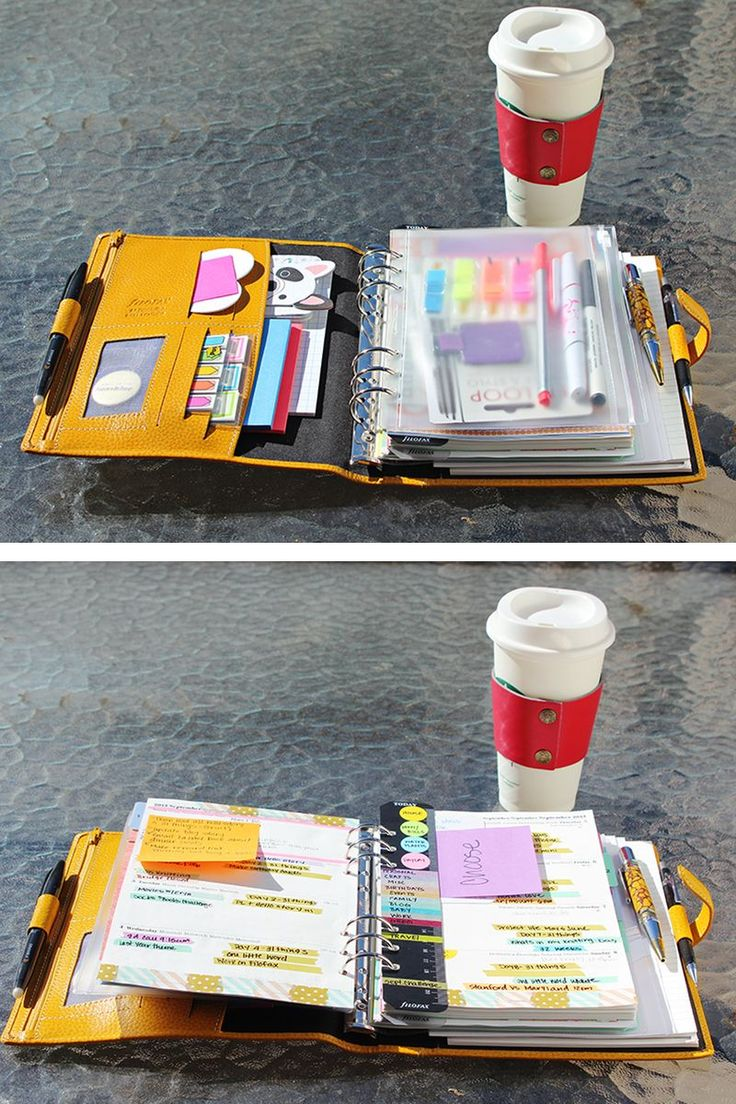 Oooooooh...Filofax crammed full of awesomeness!! So purdy!