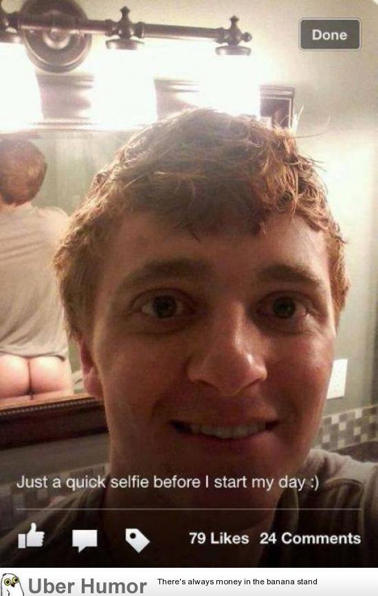 a quick selfie