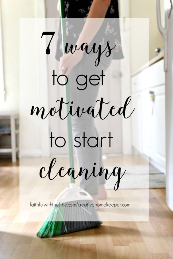 Do you struggle to get motivated to start cleaning? Do you feel so overwhelmed you don't even know where to start? These 7 tips will help you focus and jump right on in of the daily cleaning and homemaking tasks that need to be done. You might even find you enjoy cleaning