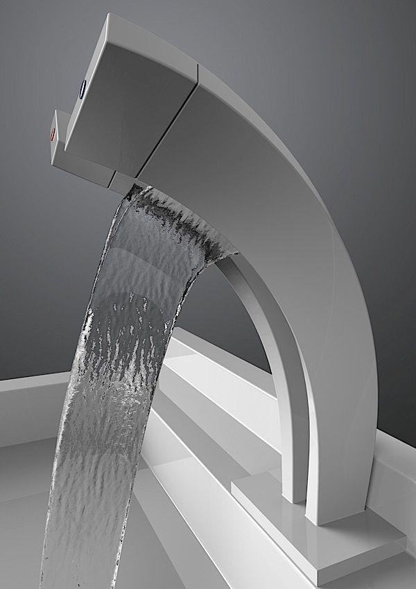 Fremdscham Werbung Fur Einen Wasserhahn Mit Knopf Wasserfall