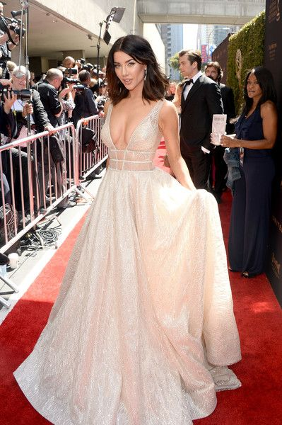 Jacqueline MacInnes Wood Pictures 2016 Daytime Emmy Awards - Red Carpet -