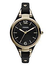 Georgia Leather Watch