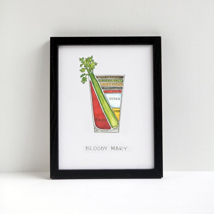 Bloody Mary by Drywell Art | Boozehounds