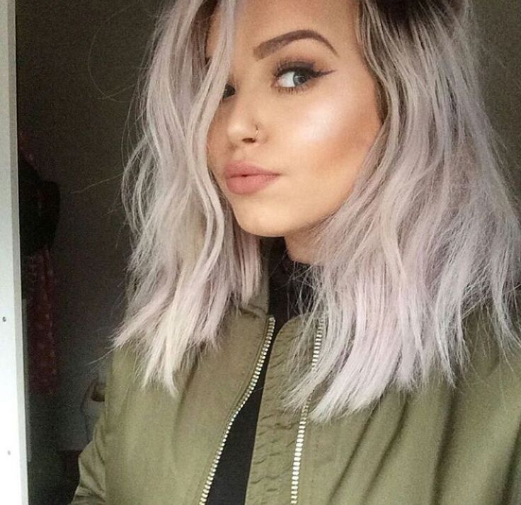 Stunning Coloring Hair Grey Silver Images - Triamterene.us ...