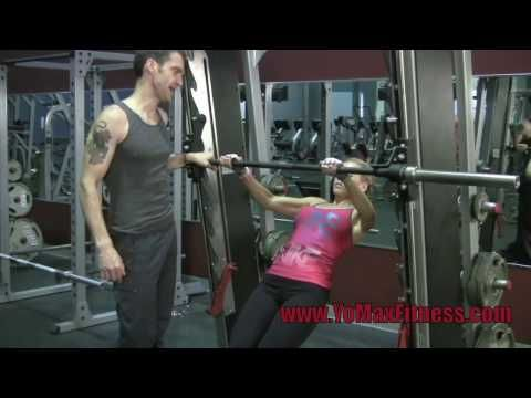 The Smith Machine is a great to tool that offers interesting and effective variations for both Push-ups and Pull-ups. Ideal for Beginner, Intermediate, and advanced training.