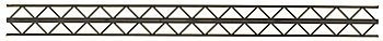 """Plastruct OWTA-16 Open Web Truss (2) PLS90405 by Plastruct. $5.62. This is an Open Web Truss Warren Style-2.FEATURES: Used for Roof Trusses, Bridges, Conveyors, and Space Frames Precision Molded in Dark Gray ABS Plastic Ideal for all Outdoor or Plastic ModelsINCLUDES: Two Open Web Trusses in ABS PlasticSPECS: Height: 1/2"""" (12.7mm) Width: 27/32"""" (21.4mm) Thickness: 3/16"""" (4.8mm) Length: 12"""" (300mm)PlastructPart PLS90405. Save 28% Off!"""