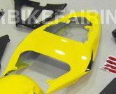 2004-2005 GSXR-600 750 Yellow Rear Seat Cowl Only