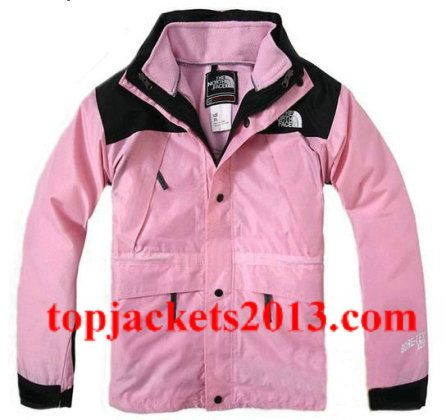 The North Face Outlet Kids Gore Tex Xcr Jacket Pink Black