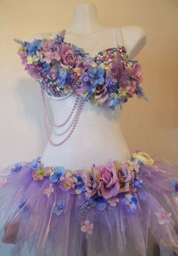 Fairy Wonderland Rhinestone Clusters Pink and by RevoltCouture