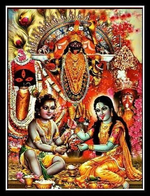 Maa Kali Krishna