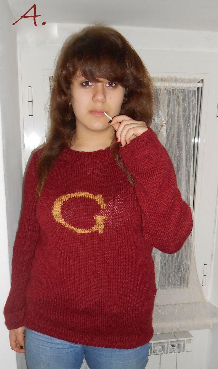 Maglioncino di Harry Potter per la mia Gabry