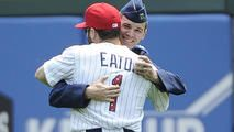 Brother of White Sox Eaton Surprises Him on Field - http://www.nbcchicago.com/news/local/White-Sox-Adam-Eaton-Shares-Special-Moment-With-Military-Brother-on-the-Field-311679061.html