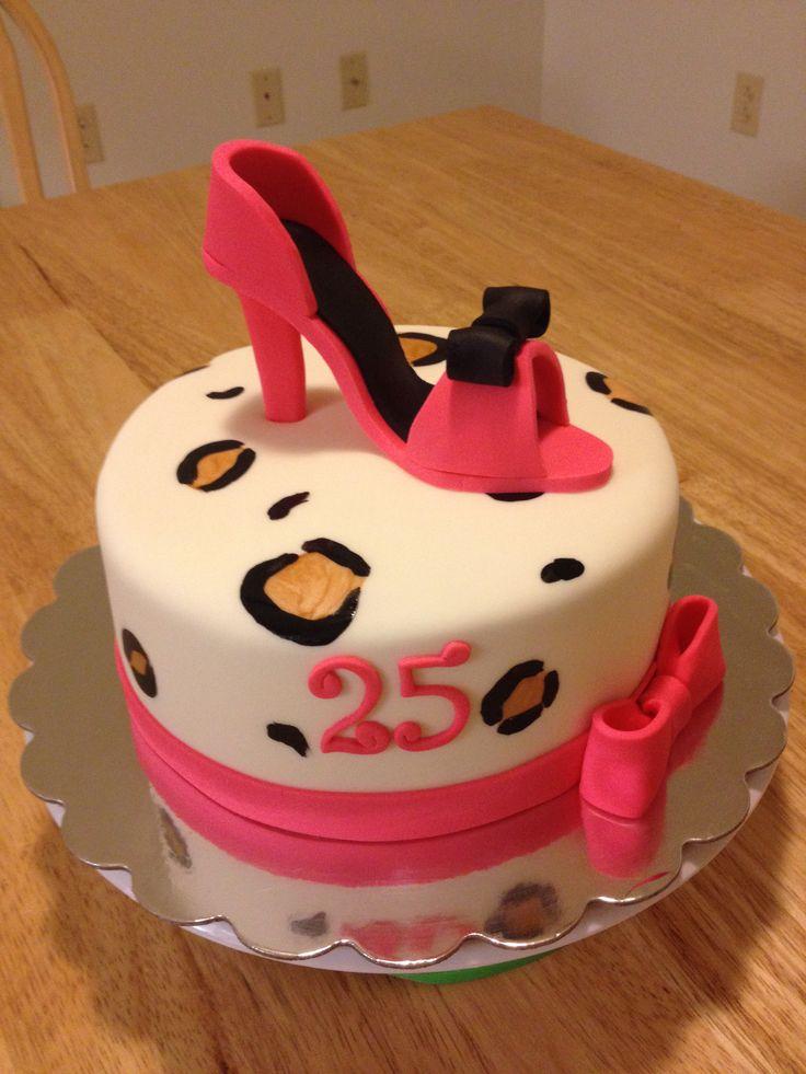 Angela's Cake Creations - High Heel Cake | My Cakes ...