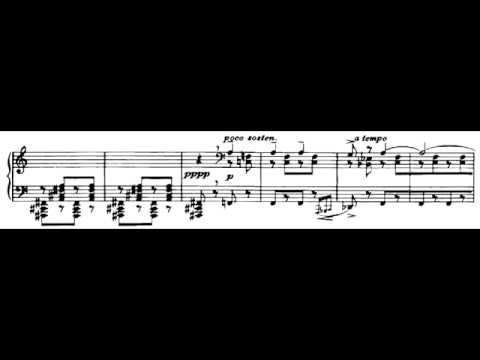 Béla Bartók - Allegro Barbaro (Sz.49) Piano: Christopher Andrews (Chachboon1)