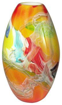 Dale Tiffany Av12039 Lava Vase transitional vases