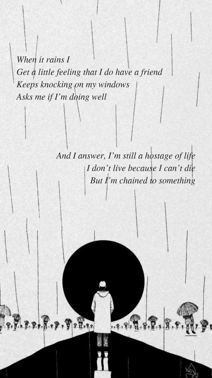 Forever rain by BTS RM ''Quando chove sint…