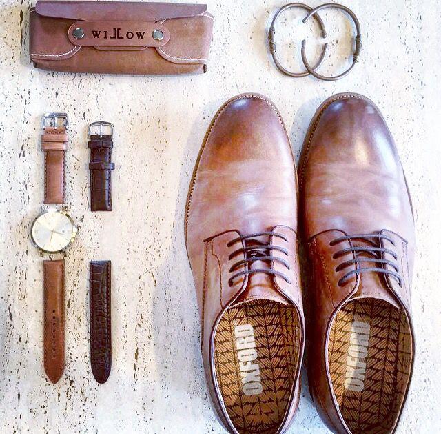 Men's essentials #oxford #armcandy #watch