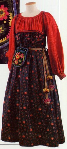 sarafan dress pattern - Google Search