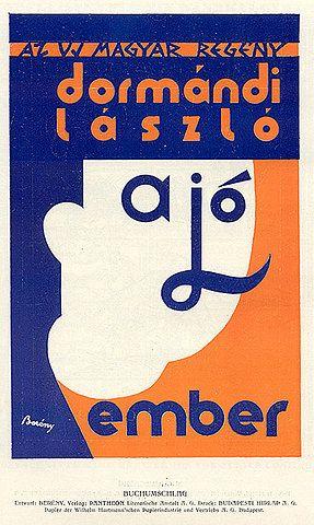 """Book dust jacket """"Ember."""" Designed by """"Berény."""" From Archiv für Buchgewerbe und Gebrauchsgraphik, Heft 10, 1930. Published by Verlag des Deutschen Buchgewerbevereins zu Leipzig."""