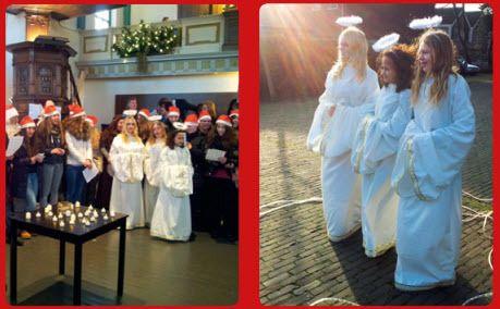 Vorige week werd de jaarlijkse kerstbeleving voor cliënten van locatie Westerkoogweg gehouden. Op het plein voor de Kogerkerk in Koog aan de Zaan werden de cliënten verwelkomd met vrolijke kerstmuziek en de kerstman met zijn engelen. Er werd een kerstverhaal verteld door een aantal cliënten, waarbij het verhaal werd uitgebeeld door leerlingen van het Trias College uit Krommenie. Na afloop van de dienst kregen alle cliënten een tasje met inhoud mee. Deze kerstbeleving is mogelijk gemaakt door…