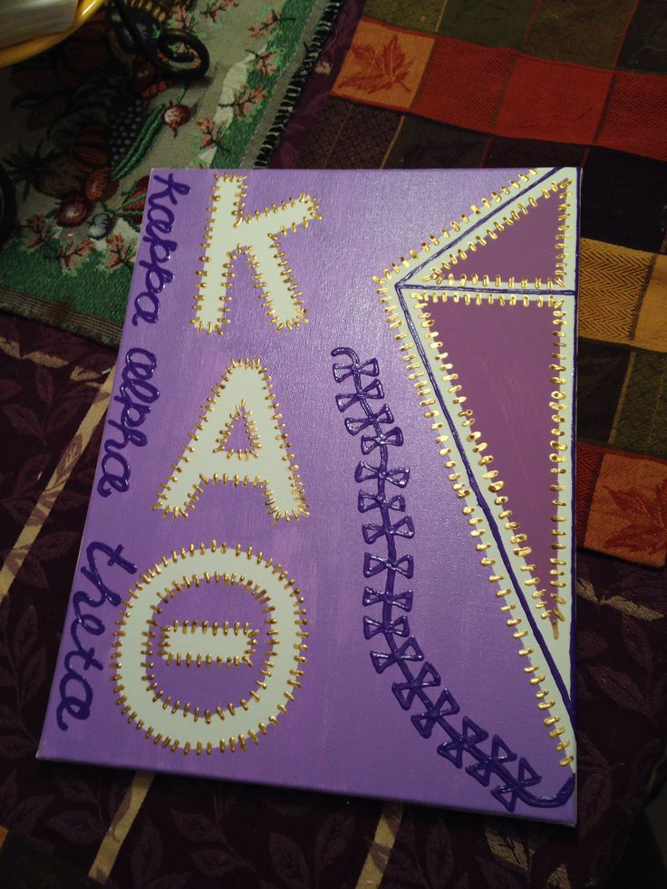 Kappa alpha theta craft, just different colors