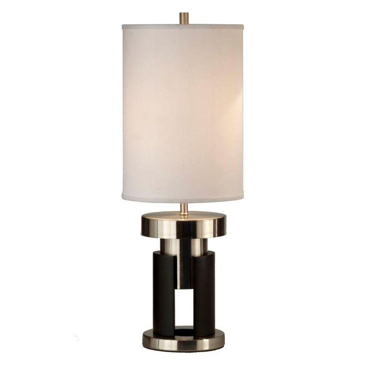 Filament Design Astrulux 26.5 in. Dark Brown Table Lamp