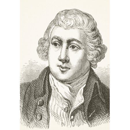 Sir Richard Arkwright 1732 - 1792 English Textile Industrialist And Inventor From The National And Domestic History Of England By William Aubrey Published London Circa 1890 Canvas Art - Ken Welsh Des
