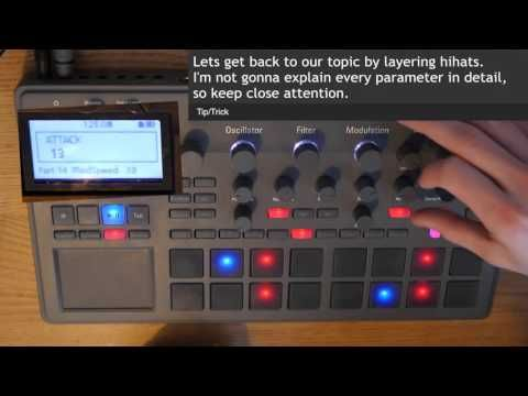 Electribe 2 Tutorial   Layering%2C techniques and idea%27s - YouTube