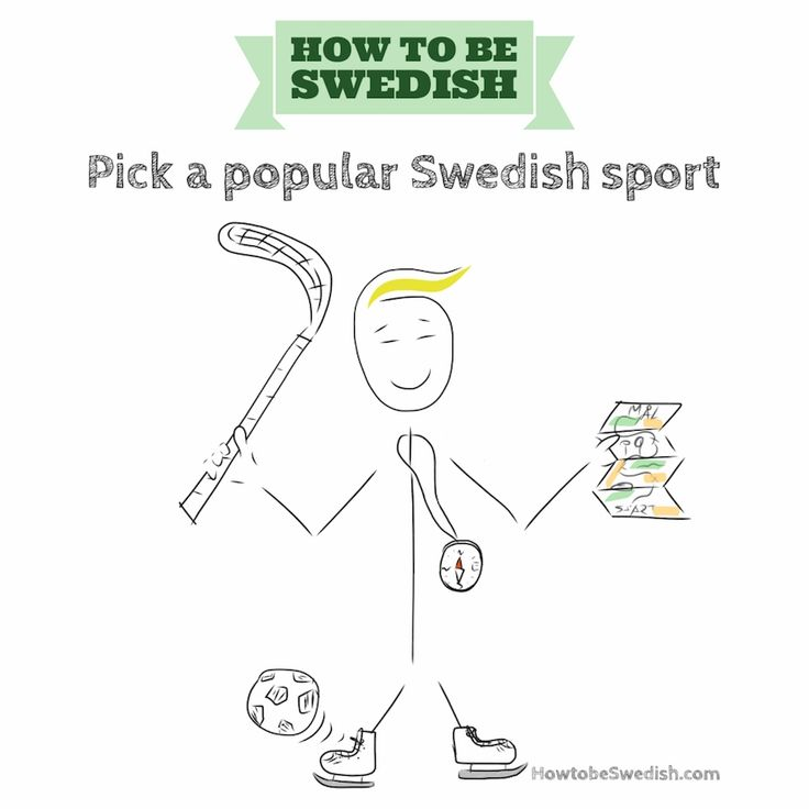 Pick a popular Swedish sport - How to be Swedish