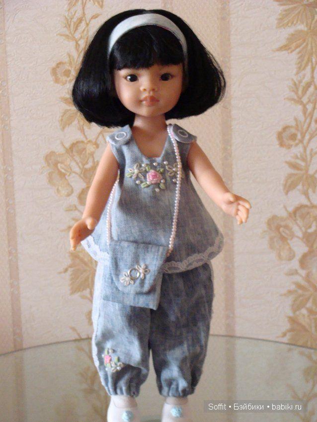 Джинсовые наряды для Лиу / Одежда и обувь для кукол - своими руками и не только…